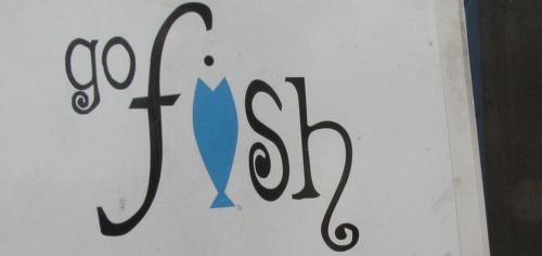 go-fish-sign