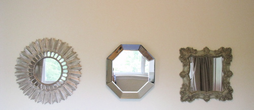 Different Shaped Mirrors different shaped mirrors - home design