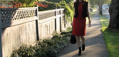 red-dress-vintage