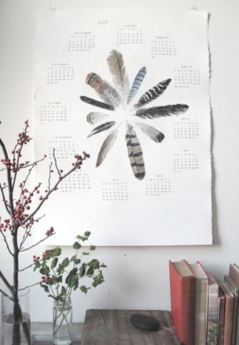 feather-calendar