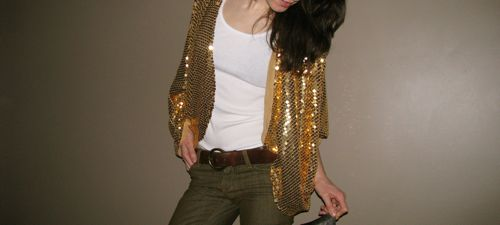 vintage-gold-sequin-sweater