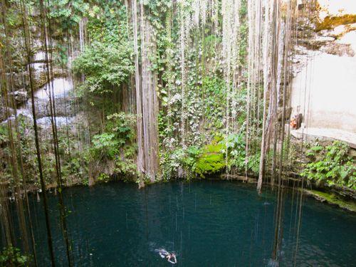 cenote-swimming-mexico