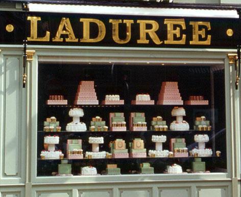 Laduree Paris shop window