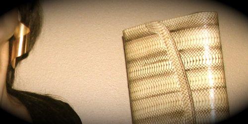 80s-gold-earring-snakeskin-clutch