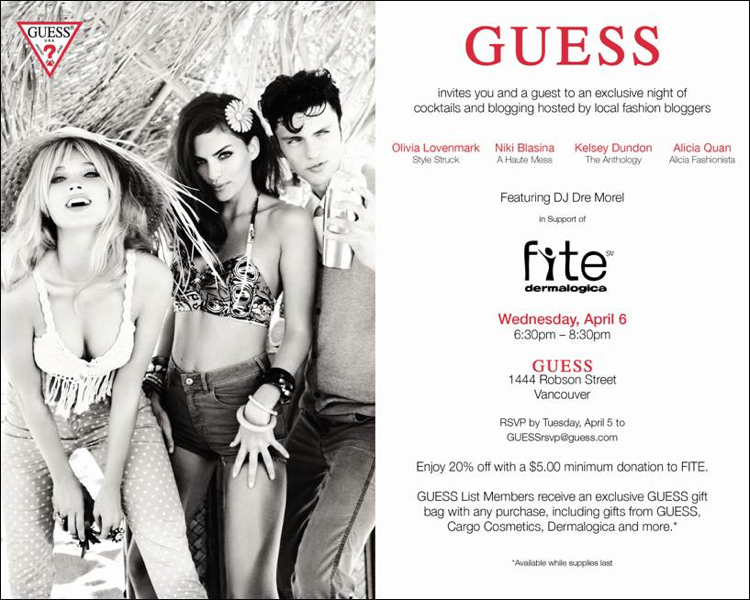 guess-vancouver-fashion-blogger-party