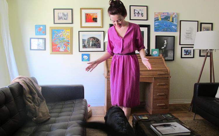pink-vintage-dress-dog