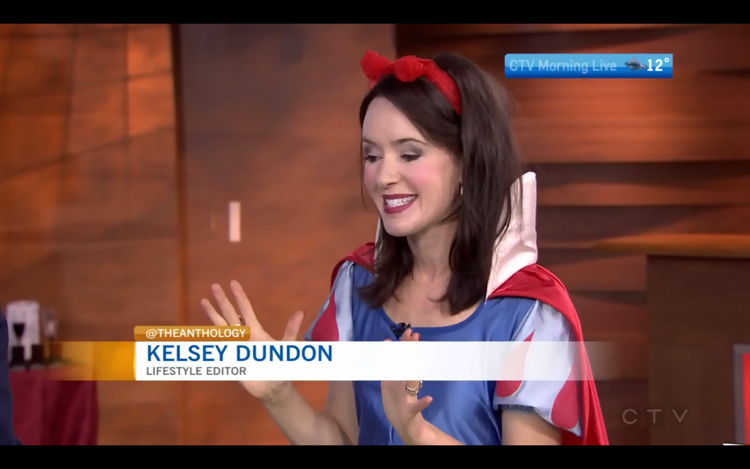 Kelsey Dundon CTV Morning Live Halloween Kids Party Ideas