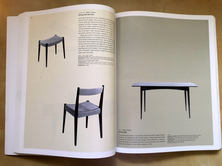 Design in Canada table chairs