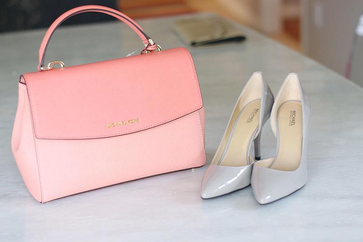 Michael Kors bag and shoes
