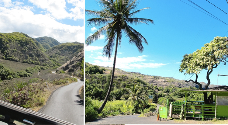 Maui north road